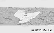 Gray Panoramic Map of OviaNort
