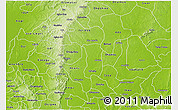 Physical 3D Map of Enugu