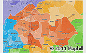 Political Shades 3D Map of Enugu