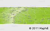 Physical Panoramic Map of Isi-Uzo