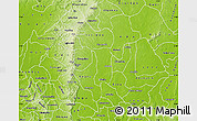 Physical Map of Enugu