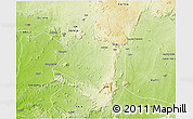 Physical 3D Map of AbujaMun