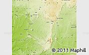Physical Map of AbujaMun