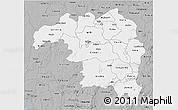 Gray 3D Map of Kaduna