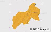 Political Map of Birnin-G, cropped outside
