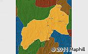 Political Map of Birnin-G, darken