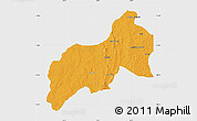 Political Map of Birnin-G, single color outside
