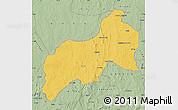 Savanna Style Map of Birnin-G
