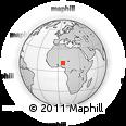 Outline Map of Birnin-G