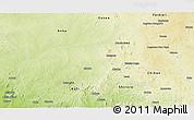 Physical Panoramic Map of Birnin-G