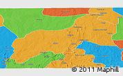 Political Panoramic Map of Birnin-G