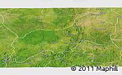 Satellite Panoramic Map of Birnin-G