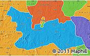 Political Map of Chikun