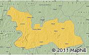 Savanna Style Map of Chikun
