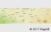 Physical Panoramic Map of Chikun