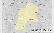 Physical Map of Giwa, desaturated