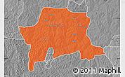 Political Map of Igabi, desaturated