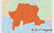 Political Map of Igabi, lighten
