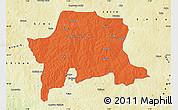 Political Map of Igabi, physical outside