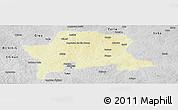 Physical Panoramic Map of Igabi, desaturated