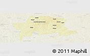 Physical Panoramic Map of Igabi, lighten