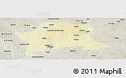 Physical Panoramic Map of Igabi, semi-desaturated