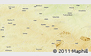 Physical Panoramic Map of Ikara