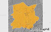 Political Map of Kachia, desaturated