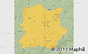 Savanna Style Map of Kachia