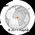 Outline Map of Kachia