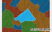 Political Map of Makarfi, darken