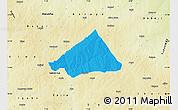 Political Map of Makarfi, physical outside