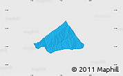 Political Map of Makarfi, single color outside
