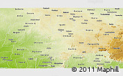 Physical Panoramic Map of Kaduna