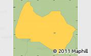 Savanna Style Simple Map of Sabon-Ga