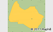 Savanna Style Simple Map of Sabon-Ga, single color outside