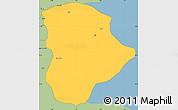 Savanna Style Simple Map of Soba