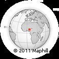 Outline Map of Tudun