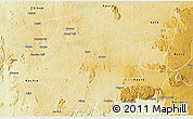 Physical 3D Map of ZangonKa