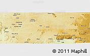 Physical Panoramic Map of ZangonKa