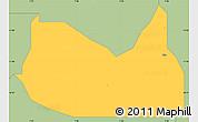 Savanna Style Simple Map of Zaria