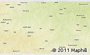 Physical 3D Map of Bebeji