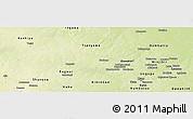 Physical Panoramic Map of Bichi