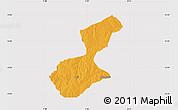 Political Map of Karaye, cropped outside