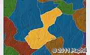 Political Map of Karaye, darken