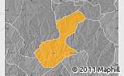 Political Map of Karaye, desaturated
