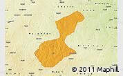 Political Map of Karaye, physical outside