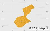 Political Map of Karaye, single color outside