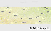 Physical Panoramic Map of Karaye