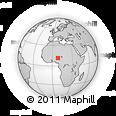 Outline Map of Kura